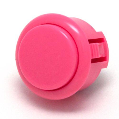 Sanwa OBSF-30 PINK OEM Arcade Push Button (Mad Catz SF4 Tournament Joystick Compatible)
