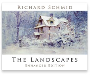 THE LANDSCAPES - newly ENHANCED EDITION by RICHARD SCHMID 1st printing - 11/2017