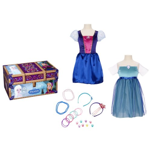 Disney FROZEN Travel Dress Up Trunk (Little Girls Dress Up)