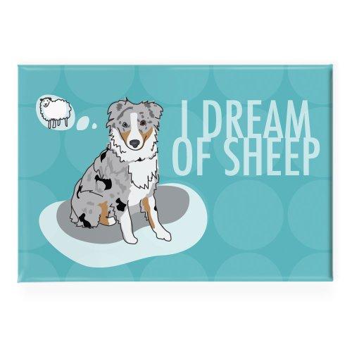 Pop Doggie I Dream of Sheep Blue Merle Australian Shepher...
