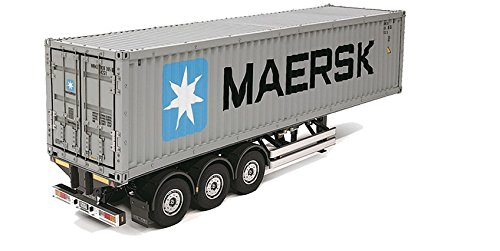 Tamiya 40Ft Container Semi-Trailer for Tractor Trucks ()