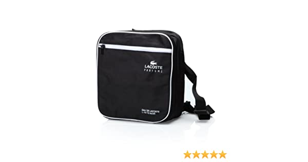 Amazon.com : Lacoste Eau de Lacoste L.12.12 Noir Duffle Bag Black : Bath And Shower Products : Beauty