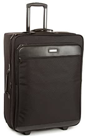 Hartmann Luggage Intensity 27 Inch Expandable Mobile Traveler Suitcase, Black, One Size