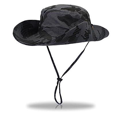 Man&Y Elegant Fisherman's hat Foldable Wide Brim Floppy Summer Hats for Women Outdoor UV Protection Wide Brim Bucket hat Cowboy hat