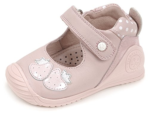 Biomecanics 172136, Bailarinas para Bebés Varios colores (Rosa /     Estampado Puntos )