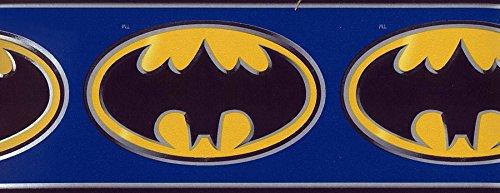 Blue Bat Logo Wallpaper Border 9230 BZ