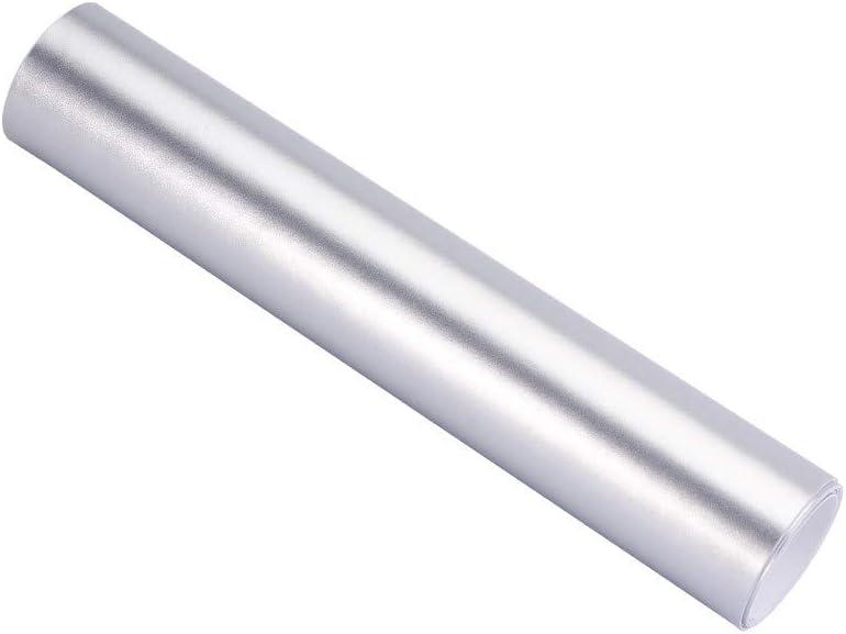 ATMOMO Metallic Silver Vinyl Wrap Car Wrap Vinyl Roll with Air Release Technology 59.8 x 29.5