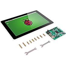"Raspberry Pi 10.1"" Display Touchscreen – SunFounder 10.1 Inch IPS LCD HDMI 1280x800 for Raspberry Pi 3 2 Model B and RPi 1 B+ LattePanda Beagle Bone"