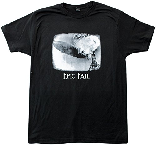EPIC FAIL: Hindenburg Blimp Disaster | Funny Historic Fail Meme Unisex T-shirt