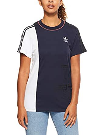 adidas Women's DH2946 Tee T-Shirt, Legend Ink/White, 32