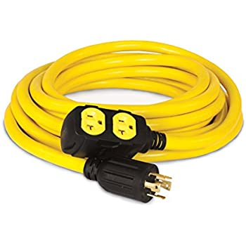 Amazon Com Champion 25 Foot 30 Amp 125 250 Volt Duplex