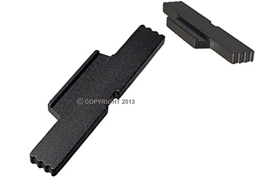 Extended Lever - NDZ Performance for Glock Gen 5 Black Extended Lock Lever 17 19 19 x 25 34