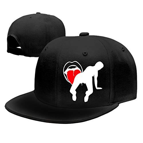 Zunge Dad Hat Peaked Trucker Hats Baseball Cap for Women - Couture Trucker Hat