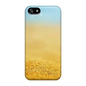 AccDavid Premium Protective Hard Case For Iphone 5/5s- Nice Design - Sand Depth Of Field