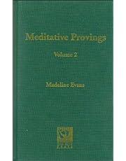 Meditative Provings