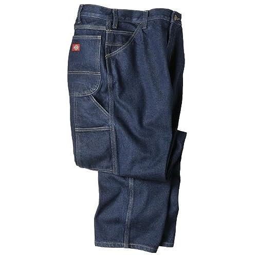 Dickies Occupational Workwear LU200RNB3632 LU200 Industrial Carpenter Denim  Jean, Fabric, 36
