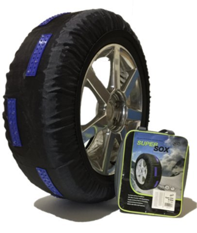 Tire Sox Aternative Traction Device for Winter Driving Conditions - Chain Company Peerless