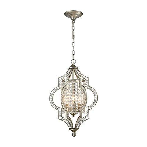 - ELK Lighting 16270/3 Chandelier, One Size, Silver