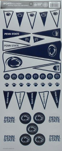Sports Solution Penn State Pennant Decorative Sticker