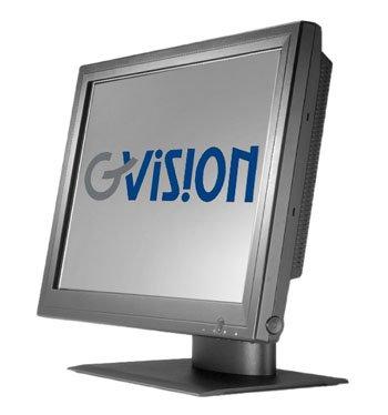 (Gvision P17BH-AB-459G 17IN LCD TOUCH SCN, DESKTOP, VGA+DVI, SXGA 1280X1024, 350 NITS, 1000:1 CONTRAST, 5-WIRE RESISTIVE-DUAL USB+SERIAL, SPKRS, 100MM VESA, BLACK, 90 DEGREE TILT STD)
