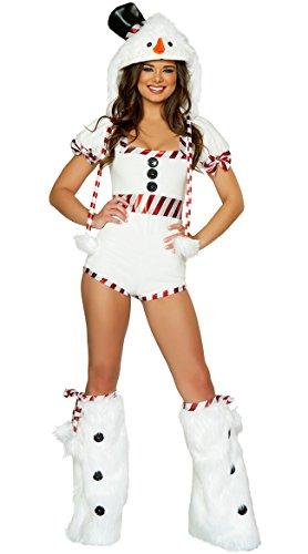 Sexy Penguin Costumes (PINSE Sexy Female Snow Girl White Penguin Halloween Costume)