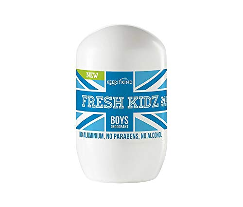 Fresh Kidz Natural Roll On Deodorant 24 Hour Protection - Boys