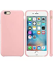 Silicone iPhone 6 plus / 6S plus back cover case - Pink