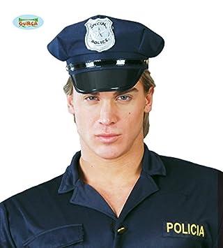Gorro Sombrero Policia con Placa Special Police Talla Unica Azul Accesorio  Disfraz Carnaval Halloween Fiesta  Amazon.es  Juguetes y juegos aa4e13a364e