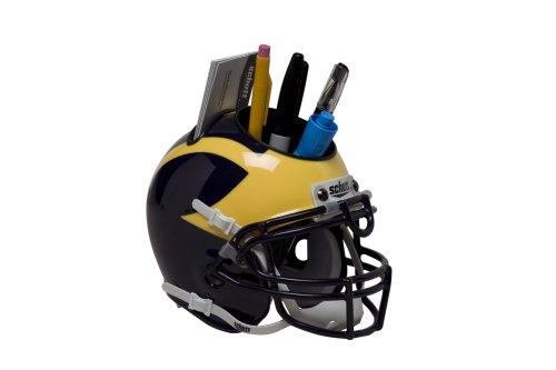 NCAA Michigan Wolverines Helmet Desk Caddy