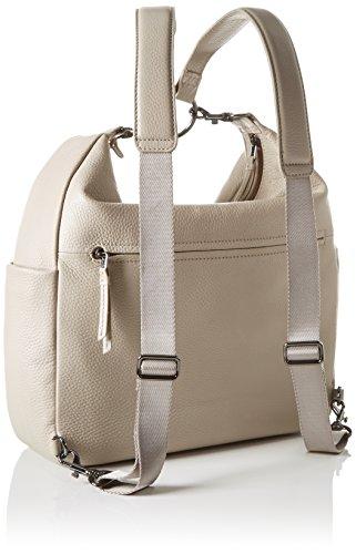 BREE Damen Nola 6 S17 Rucksackhandtasche, Einheitsgröße Grau (Cotton)