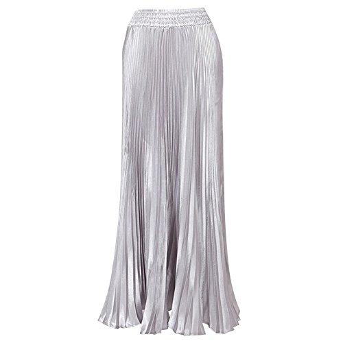 hibote Mujeres plisado de la falda Astilla