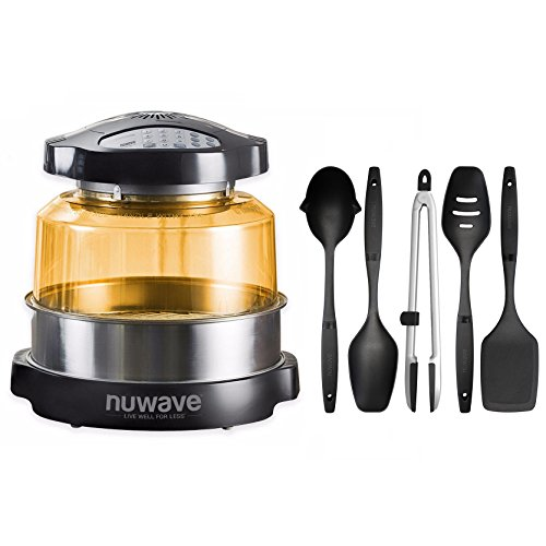 Nuwave Elite Oven w/ 5 Piece Nylon Cooking Utensil Set by NuWave