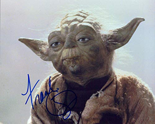 FRANK OZ (Yoda- Star Wars) signed 8x10 photo
