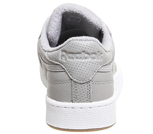 de Estl Club Gris Reebok Tennis Washed White Powder Chaussures Homme C 000 gum Blue 85 Gris Grey XwpCCqgtx