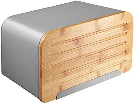 Caja para pan Ambition Nordic con tabla para cortar pan: Amazon.es ...
