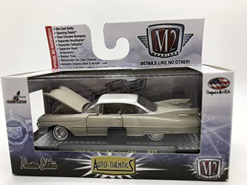 M2 Machines Auto-Thentics 1959 Cadillac Series 62 R37 16-09 Cream Details Like NO Other! Over 42 Parts (Series Cadillac 64)