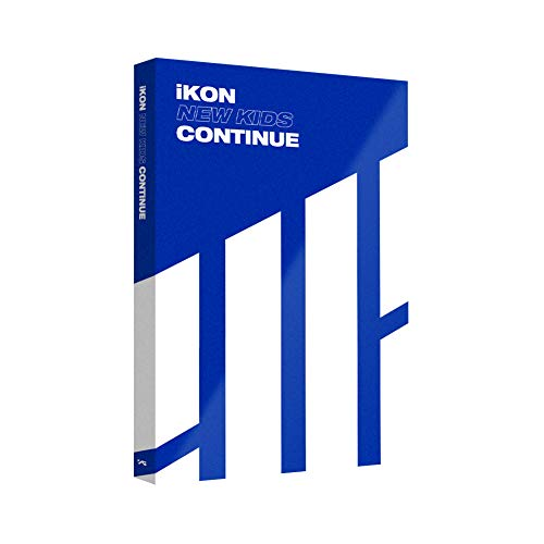 YG Entertainment Idol Goods Fan Products YG Select iKON MINI ALBUM NEW KIDS : CONTINUE BLUE VER. by YG Entertainment
