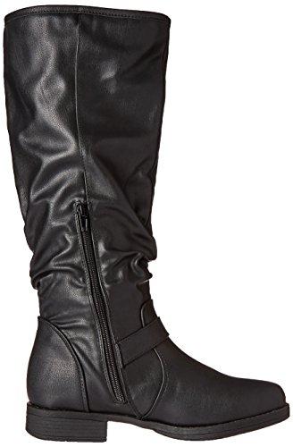 Brinley Co Women's Sunny-wc Riding Boot Black 4VcZzE