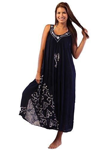 Batik Caftan Dress - 1