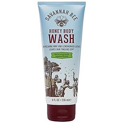 Savannah Bee Company Lemongrass Spearmint Honey Body Wash 8oz