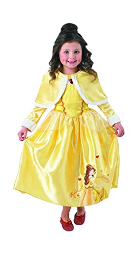 Winter Wonderland Golden Belle - Disney Childrens Fancy Dress Costume - Medium - 116cm