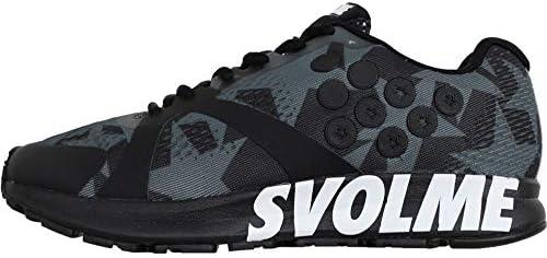 SVOLME(スボルメ) ランニング トレーニング シューズ STRELLAスター 7193-04363 26.5センチ ブラック