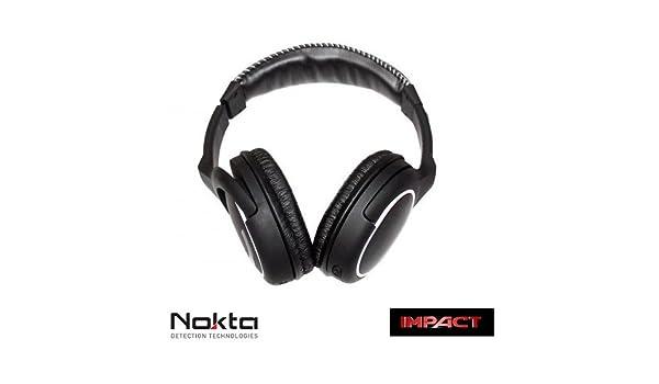 Nokta - Auriculares inalámbricos de 2,4 GHz para Nokta Impact: Amazon.es: Deportes y aire libre