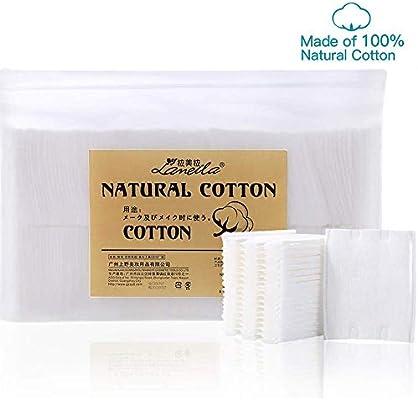 Lameila -Discos desmaquillantes de algodón, 180 unidades: Amazon.es: Belleza