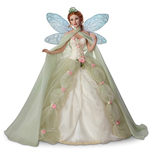 The Ashton-Drake Galleries Titania Queen of The Fairies Porcelain Fantasy Doll with Poseable Head and Arms