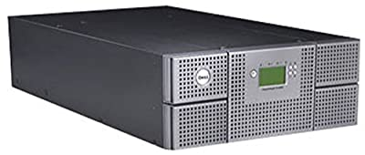 FOR DELL VHTKK Genuine OEM Dell PowerVault TL4000 4U Rackmount 48-Slot 48-Tape LTO4 LCD Library SCSI/SAS/FC 38.4TB Capacity RMU w/Railkit (Tape Drives are NOT included) from For Dell