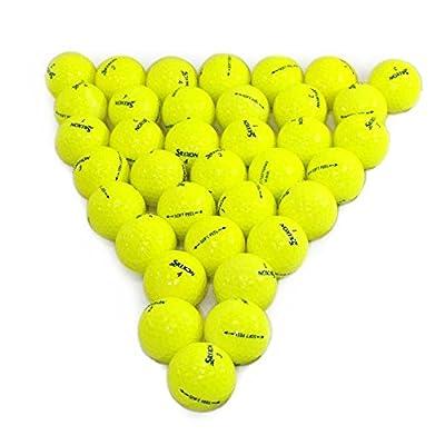 Srixon Softfeel Yellow 36 Pack Golf Balls Mint Condition ()