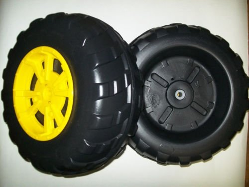 John Deere Peg Perego Gator XUV Front Wheel Set (2 Tires) Left & (Peg Perego Model)