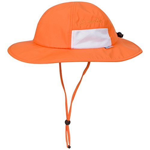 af83e4b62a7 SwimZip Unisex Child Wide Brim Sun Protection Hat UPF 50