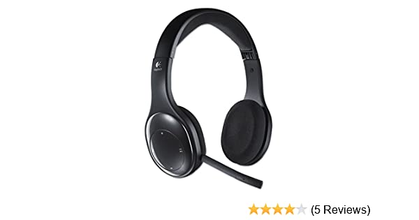Amazon Com Logitech 981000337 H800 Binaural Over The Head Wireless Bluetooth Headset 4 Ft Range Black